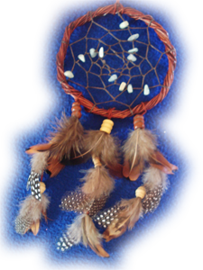 dreamcatcher aigue marine