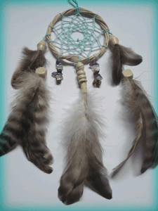 Dreamcatcher grigri : aqua dream