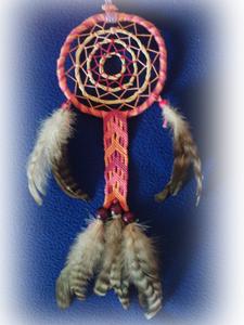 Dreamcatcher ensemble : variation avec bracelet brésilien