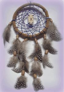 Dreamcatcher grigri : Rune & spirale