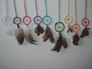 Dreamcatchers pendentifs
