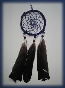 Dreamcatcher marbré : tendances bleues