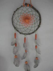 Dreamcatcher moyen : vert et orange