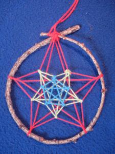 Dreamcatcher : variante : étoile