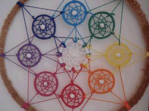 Dreamcatcher ensemble : roue des couleurs